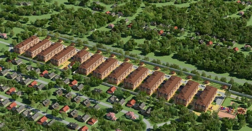 фото 2 этажных домов и коттеджей
